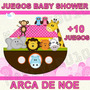 Kit Imprimible Juegos Baby Shower Arca De Noe