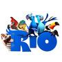 Kit Invitaciones Tarjetas Imprimibles Rio La Pelicula