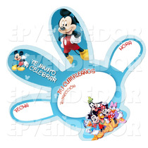 Tarjetas De Invitacion Mickey Mouse -invitaciones Epvendedor