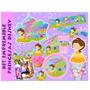 Kit Imprimible Princesas Bautizo Comunion Cumpleaños
