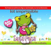Kit Imprimible Sapa Pepa Y Sus Amigos 2014 Bonus Adicional