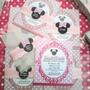 Minnie Mouse Pink - 12tarjetas De Invitación Personalizadas