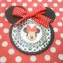 Minnie Mouse - 12tarjetas De Invitación Tipo Silueta