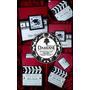 Invitaciones Hollywood Claqueta Edicion Roja