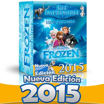 Kit Imprimible Frozen Completo Invitaciones Editables 2015
