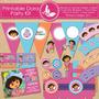 Kit Imprimible De Dora La Exploradora+ Revistas De Fiestas