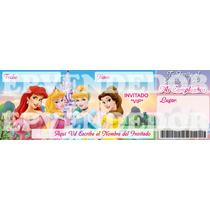 Imagen De Invitacion Princesas Disney - Invitaciones Epvend