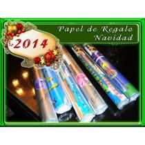 Paquete :6 Pliegos - Papeles De Regalo Navidad. X 80
