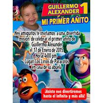 Invitaciones Infantiles Personalizadas Docena Toda Ocasión
