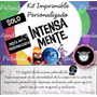 Kit Imprimible Intensamente Personalizado Fiesta Inside Out