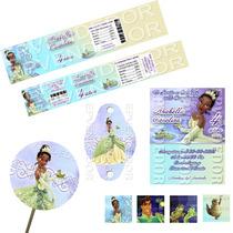 Paquete Para Fiesta La Princesa Y El Sapo - Epvendedor