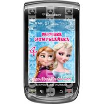 Tarjetas De Invitacion Frozen Tipo Blackberry - Epvendedor