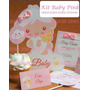 Kit Imprimible Baby Shower Angelito Niña O Niño 2x1
