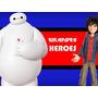 Kit Imprimible 6 Grandes Heroes Cajas Invitaciones Cupcakes