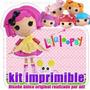 Kit Imprimible Lalaloopsy