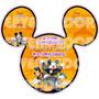 Imagen De Invitacion Mickey Mouse Halloween - Invitaciones