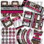 Kit Imprimible Fiesta Animal Print 2x1