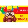 Invitacion Cumpleaños Babyshower Animalitos Jorge Mickey Car