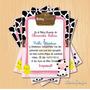 Kit Imprimible Baby Shower Vaquita Pollito Hembra Pdf
