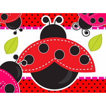 Kit Imprimible Coquito Mariquita Lady Bug Baby Shower Bautiz