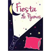 Kit Imprimible Fiesta Pijamas Pijamada Tarjetas Invitacion