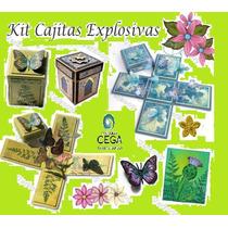 Kit Imprimible De Invitaciones Cajitas Explosivas