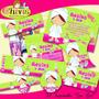 Kit Spa Girl Chivic Cumpleaños Invitacion Tarjeta Baby Nena