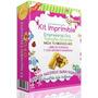Kit Imprimible Empresarial Oro Invitaciones Cajas Recuerdos