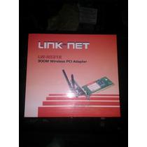 Tarjeta De Red Inalambrica Linknet 300m Somos Tienda Fisica