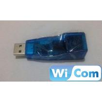 Adaptador Convertidor Usb 2.0 Lan Red Rj45 Ethernet (wicom)