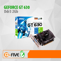 Tarjeta De Video Gt 630 2gb Nvidia Geforce Pciexpress 128bit