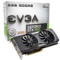 Tarjeta De Video Evga Nvidia Gtx 960 2gb Ddr5 Ssc Acx 2.0+
