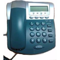 Teléfono Fijo Alanbrico Con Identificador De Llamadas