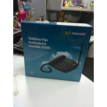 Telefono Fijo Inalambrico Con Linea Movistar Mod: D310g