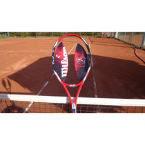 Raqueta Marca Wilson K Factor Court 264 Gr In 100 Numero 27