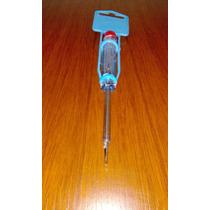 Probador Tester De Voltaje Corriente Bolsillo Destornillador