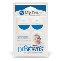 Dr Browns Pack 72 Calcomanias Para Identificar Comida Bebe