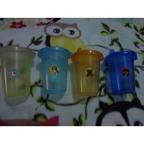 Set De 5 Vasos Para Niños De 250 Ml.