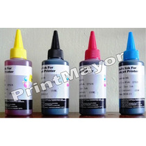 Pack 4 Tintas Premium Recarga Cartuchos Sistemas Para Epson