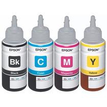 Tintas Para Epson L200 L210 L355 L555 Originales 100%