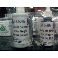 Tinta Para Recarga Tipo Hp/vivera 30ml - Epson/dye - Guayana