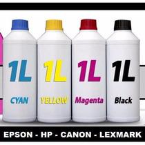 Tinta Epson Hp Canon 1 Litro Excelente Calidad Tienda Fisic