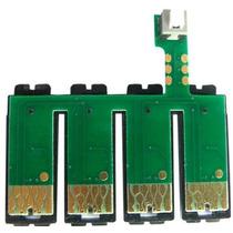 Chip Reset Con Botón Epson Serie C Cx T Tx Cartuchos Sistema