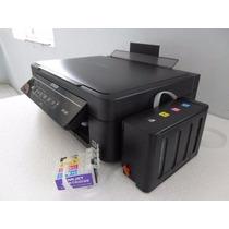 Impresora Epson Xp-201 Con Sistema De Tinta De Lujo Lleno