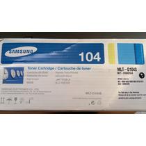 Toner Samsung 104 Mlt-d104s Ml1665 1660 Scx 3200 Instalados