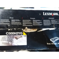 Cartucho Lexmark C500h2yg Y C500h2mg