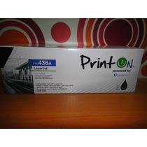 Toner Printon Compatible Hp 36a Emitimos Factura Fiscal