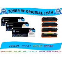 Ventas De Toner 125a Hp Ce540a - Ce541a - Ce542a - Ce543a