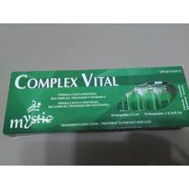 Tratamiento En Ampollas Anticaida Del Cabello Complex Vital