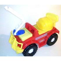Carrito Montable De Jugete Bombero Tractor Geep Para Niños